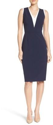 Women's Vince Camuto Stretch Sheath Dress $148 thestylecure.com