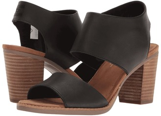 TOMS - Majorca Cutout Sandal Women's Shoes $89 thestylecure.com