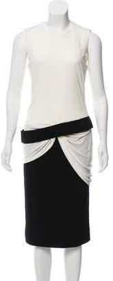 Alexander McQueen Sleeveless Midi Dress w/ Tags