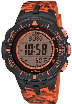 Casio Men's PRO TREK Triple Sensor Solar Digital Watch
