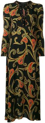 Etro printed long dress