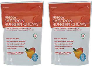 Re-Body Tropical Mango Saffron Hunger Chews 30-day Supply