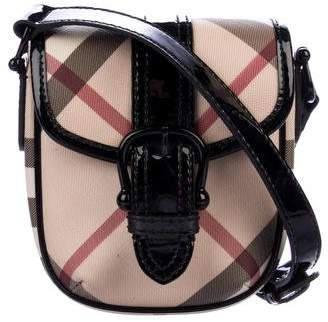 Burberry Supernova Check Crossbody Bag