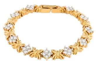 Nina Ricci Crystal Link Bracelet
