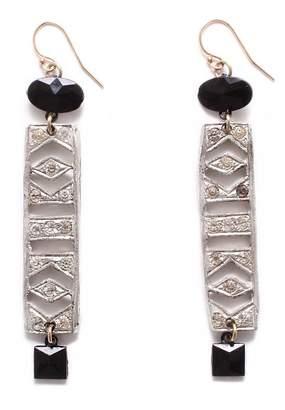 Lulu Frost Vintage Art Deco Ladder Jaunt Earrings