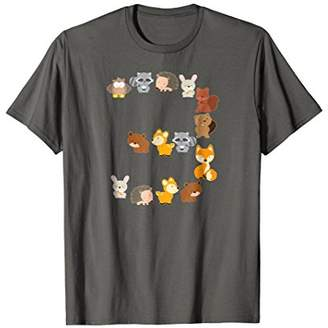 At Amazon Birthday Shirt 3 Year Old Boys Girls Cute Animals Party Gift