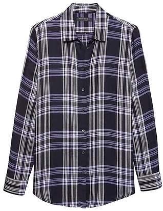 Banana Republic Dillon Classic-Fit Plaid Flannel Shirt