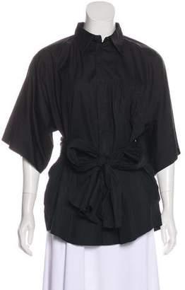 Jean Paul Gaultier Cotton Button-Up Blouse