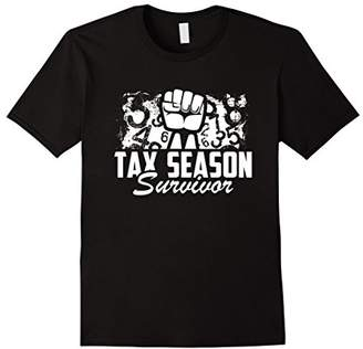 Tax season survivor. Accountant funny shirt