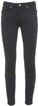 Mint Velvet Orlando Grey Zip Skinny Jeans