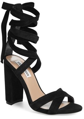 Women's Steve Madden 'Christey' Wraparound Ankle Tie Sandal $109.95 thestylecure.com
