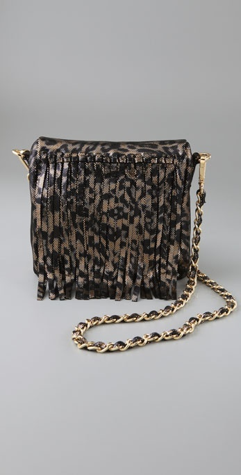 Charlie My Love Mini Cheyenne Leopard Bag