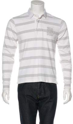 Burberry Striped Rugby Polo