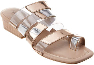 Donald J Pliner Doris Mirror Metallic Sandal