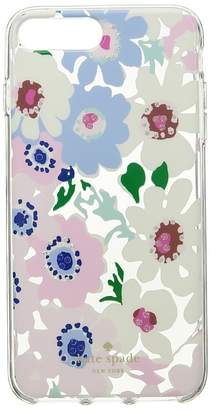 Kate Spade Jeweled Daisy Garden Clear Phone Case for iPhone 8 Plus Cell Phone Case