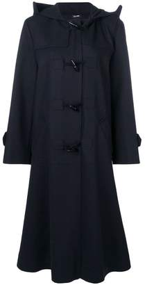 Jil Sander Navy single breasted duffle coat