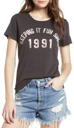 Junk Food Clothing Keeping It Fun Since 1991 Tee