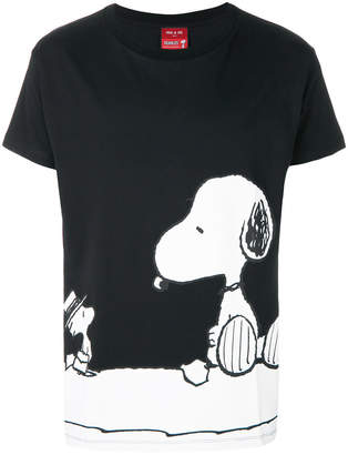 Paul & Joe Snoopy print T-shirt