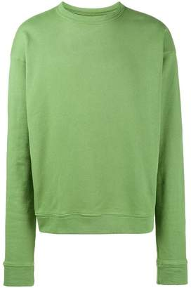 The Elder Statesman washed sweatshirt