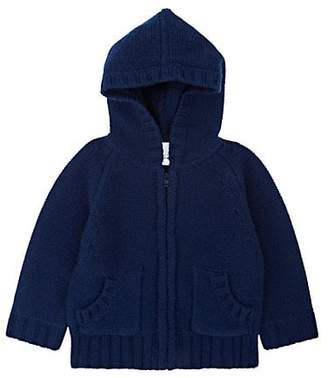 Barneys New York Infants' Cashmere Hoodie - Navy