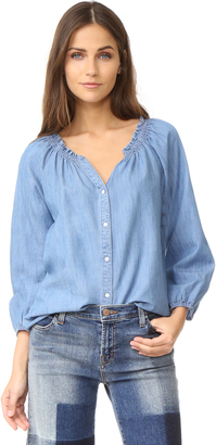 Soft Joie Scarlina Blouse $148 thestylecure.com