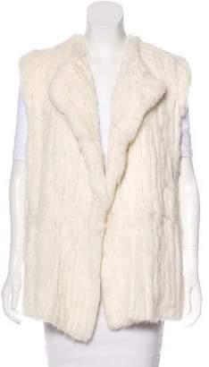 Diane von Furstenberg Denver Fur-Paneled Vest