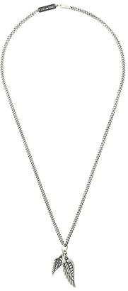 King Baby double wing pendant necklace $654.99 thestylecure.com