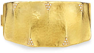 Dune Vendorafa 18k Gold and Diamond Cuff Bracelet