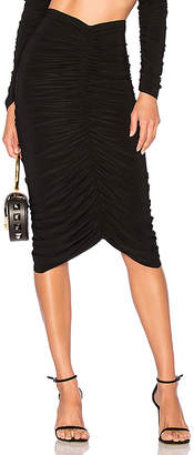 Norma Kamali x REVOLVE Shirred Skirt