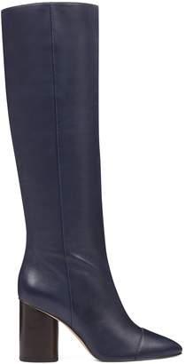 Cheyin Cylinder Heeled Boots