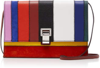 Proenza Schouler Patchwork-Effect Leather Shoulder Bag
