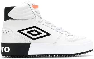 Umbro Projects side logo hi-top sneakers