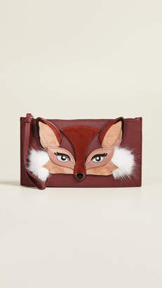 Kate Spade So Foxy Fox Ariah Wristlet