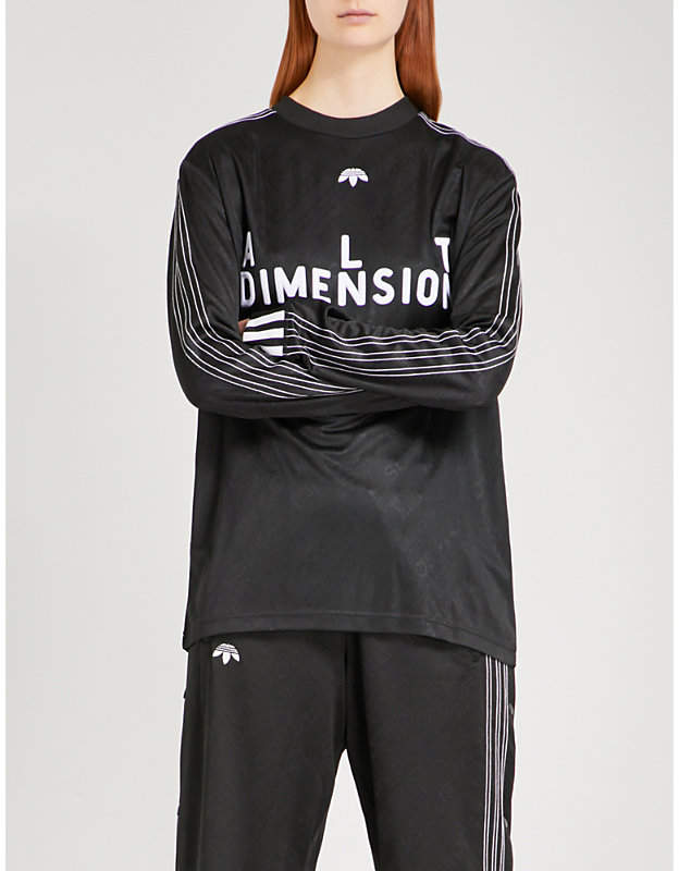 Adidas X Alexander Wang Soccer jersey top