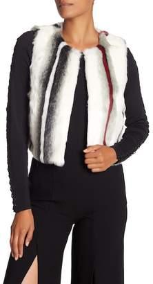Elie Tahari Faux Fur Lilian Vest