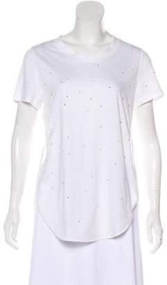 3.1 Phillip Lim Embellished Silk-Trimmed Top