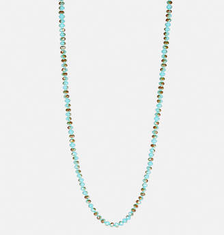 Avenue Turquoise Rope Necklace