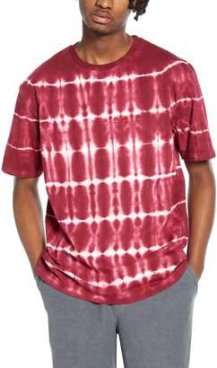 Topman Tie Dye Oversize T-Shirt