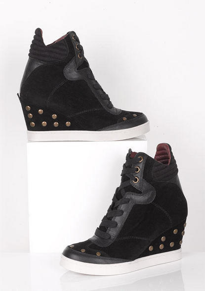 Delia's Report Yana Sneaker Wedge