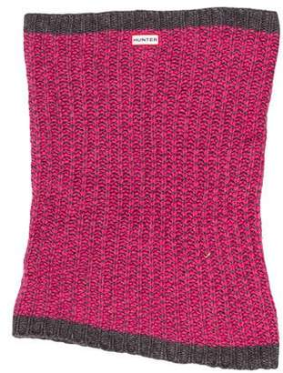 Hunter Wool Knit Neck Warmer