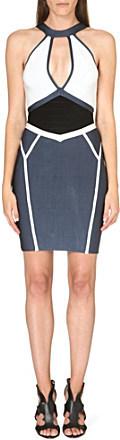 Celeb Boutique Alana cut-out bandage dress