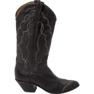 Tony Lama Leather cowboy boots
