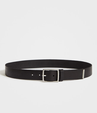 AllSaints Hewes Leather Belt