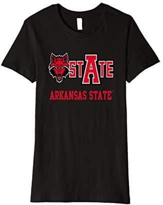 NCAA Womens Arkansas State Red Wolves T-Shirt PPAKS25