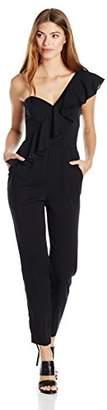 Milly Women's Cascade Ruffle Jumpsuit