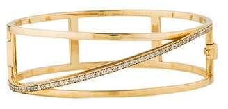 Paige Novick Phyne by 14K Diamond Bangle