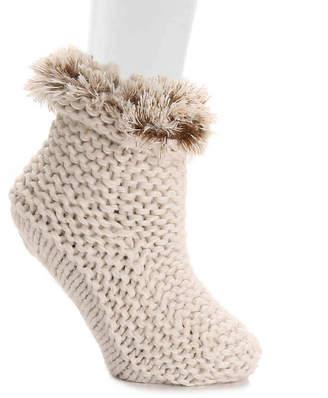 Lemon Cabin Slipper Socks - Women's