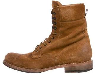 Rag & Bone Spencer Suede Military Boots