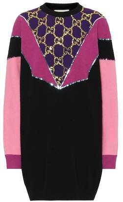 Gucci Sequined wool sweater