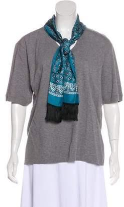 Dolce & Gabbana Short Sleeve V-Neck Top